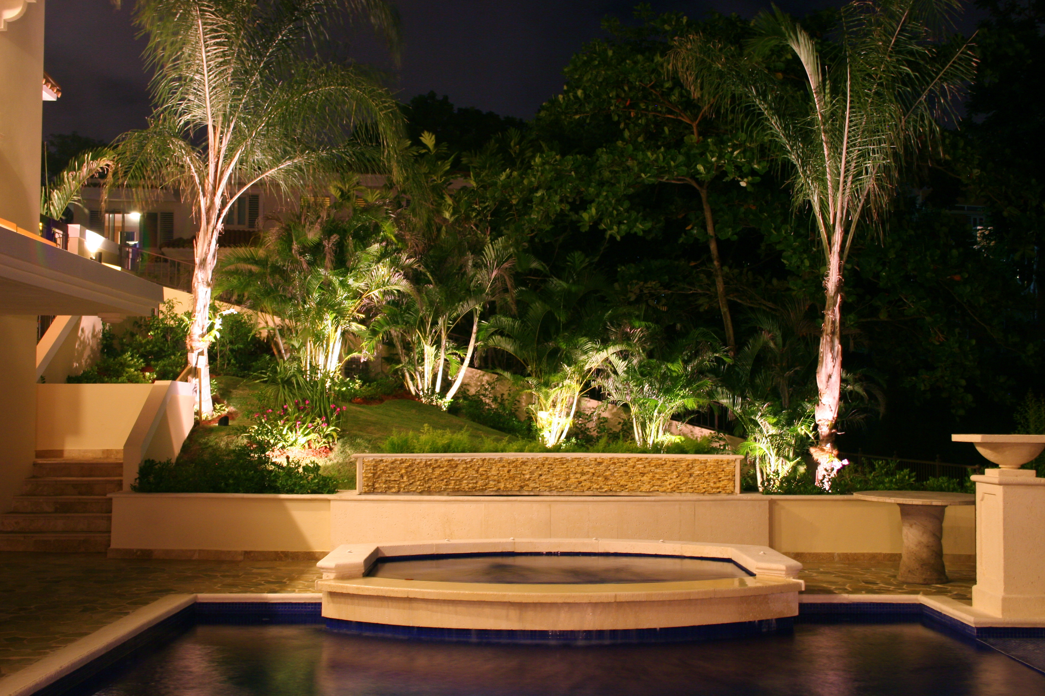 Outdoor Lighting Perspectives of Clearwater Landscape Lighting