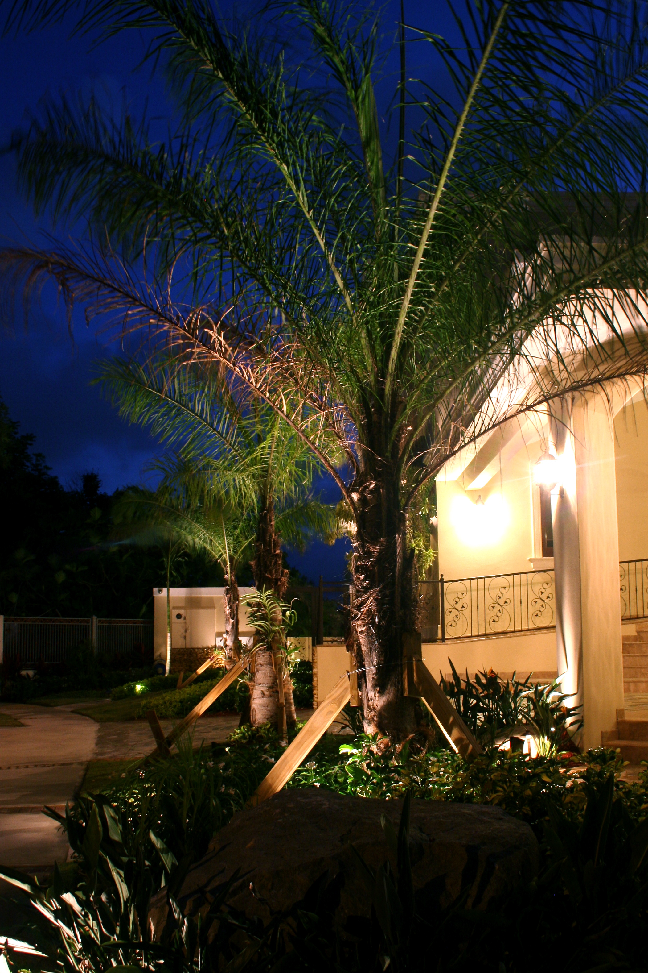 We love our snowbird customers here at outdoor lighting perspectives outdoor lighting in tampa bay can be set to make it look like you are home aloadofball Choice Image