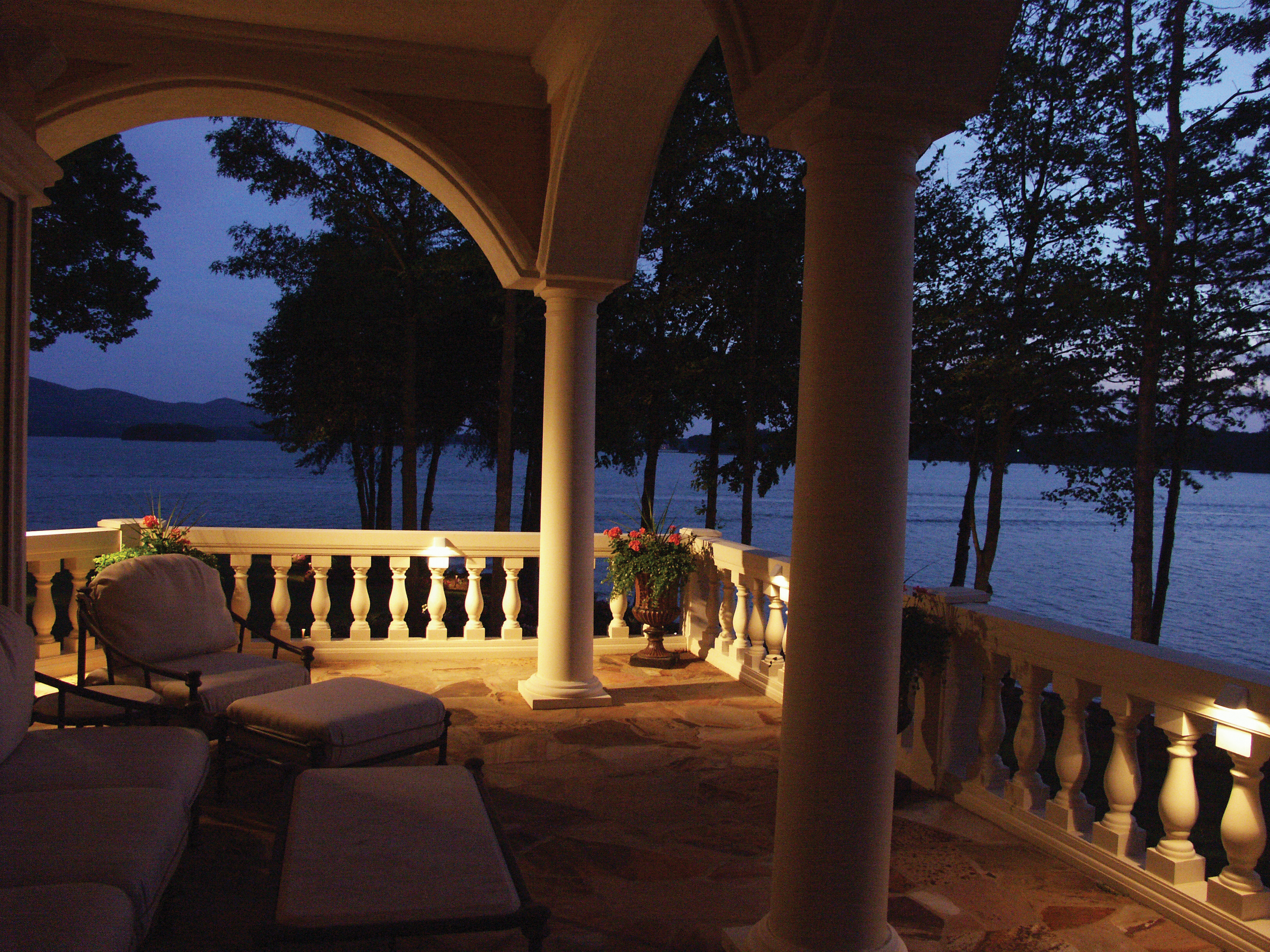 A most romantic night outdoor lighting perspectives of clearwater turn your deck or lanai into a romantic oasis with outdoor lighting aloadofball Choice Image