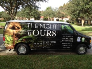 The Night is Ours in Clearwater &Tampa Bay with outdoor lighting