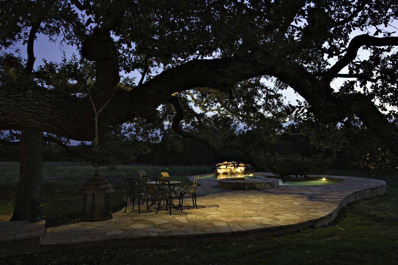 Outdoor Lighting Designs For Your Fire Pit Area Outdoor