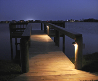 Dock Lighting in Tampa Bay