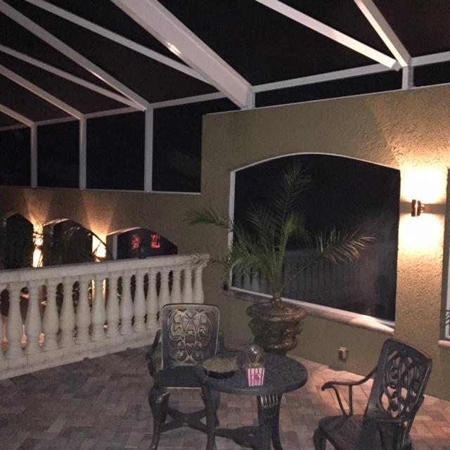 Tampa Bay Lanai Lighting