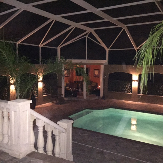 Up and down and all around tampa outdoor lighting can do it all sconce lighting provides a warm wash of ambient light aloadofball Choice Image