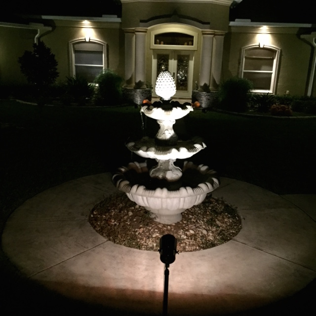 Tampa Water Feature Lighting