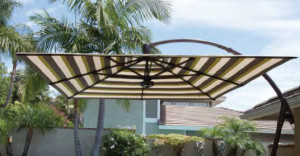 Cauwel's umbrellas provide ambiance and shade