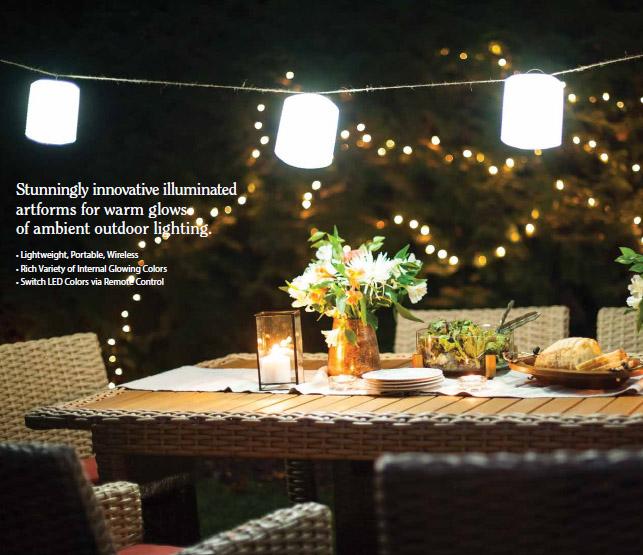 Luminous Accent lighting from Casuwel
