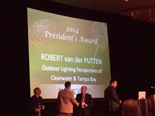 OLP President's Award for 2014