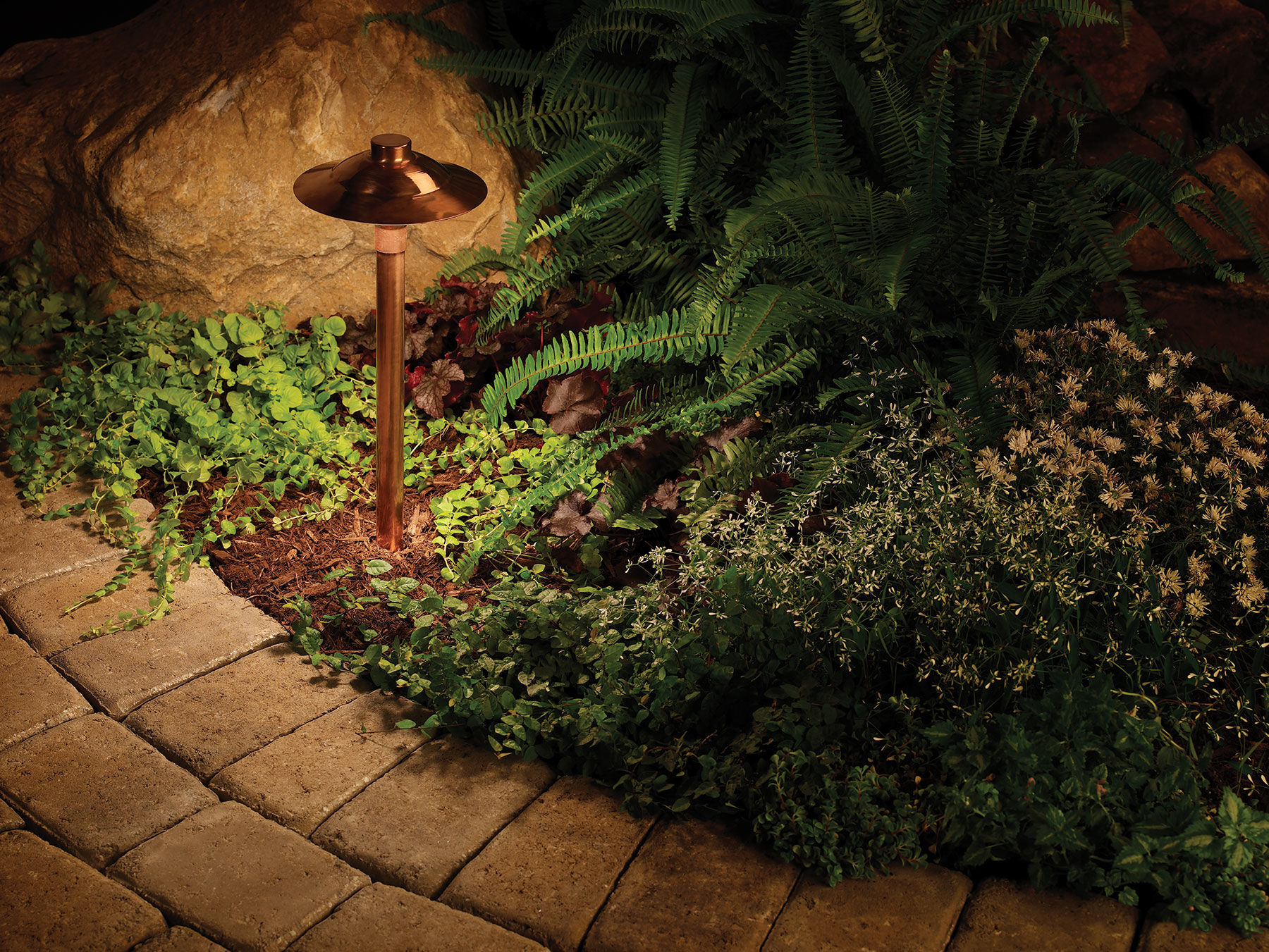 Outdoor lighting perspectives of clearwater tampa bay comes to the copper path light aloadofball Gallery