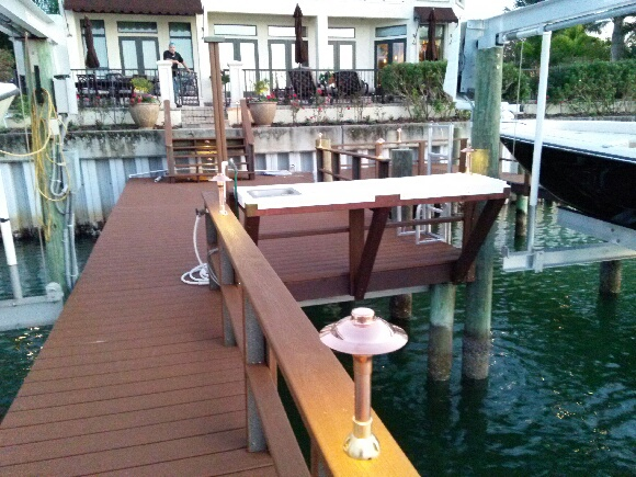 Dock lighting will enable endless enjoyment of your dock after nightfall!