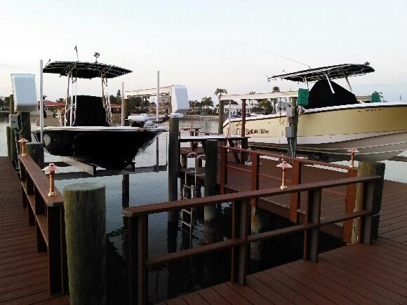Clearwater FLA dock lighting