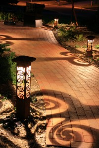 Clearwater tampa bay path lighting proves less is more outdoor attraction lights pathway clearwater and tampa bay aloadofball Images