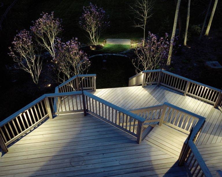Clearwater and Tampa Bay deck lighting