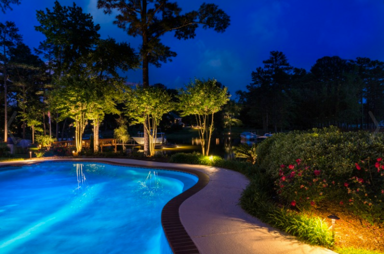 Clearwater LED Pool Surround and Landscape Lighting